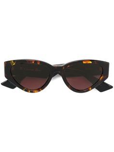 Dior Eyewear солнцезащитные очки кошачий глаз