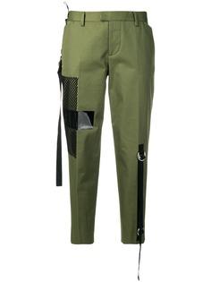 Dsquared2 укороченные брюки чинос