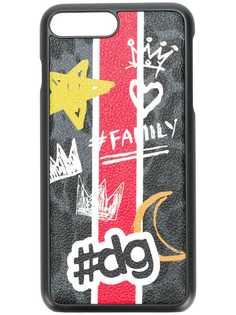Dolce & Gabbana чехол для iPhone 7 Plus с принтом