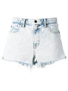 Alexander Wang джинсовые шоры с необработанными краями