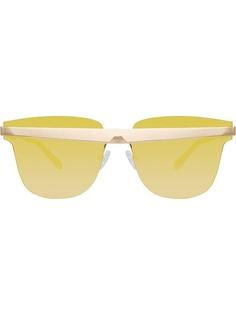Linda Farrow солнцезащитные очки United Nude в D-образной оправе