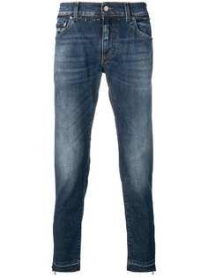 Dolce & Gabbana прямые джинсы с выцветшим эффектом