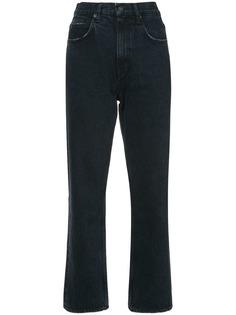 Proenza Schouler укороченные расклешенные джинсы