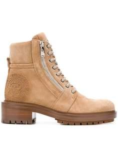 Balmain ботинки по щиколотку на шнуровке