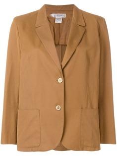 Gucci Vintage однобортный пиджак