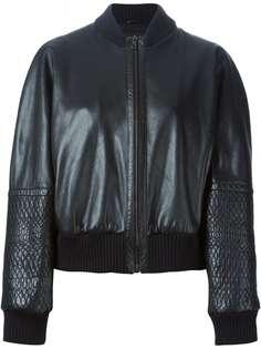 Jil Sander Vintage куртка-бомбер с панельным дизайном