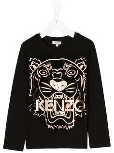 Kenzo Kids футболка с тигром