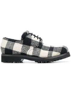 Holland & Holland туфли на шнуровке в клетку