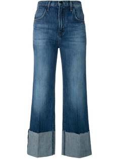 J Brand расклешенные джинсы с завышенной талией