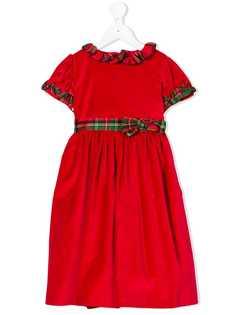 Siola расклешенное бархатное платье