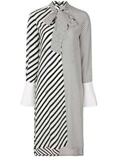Karl Lagerfeld полосатое платье-рубашка