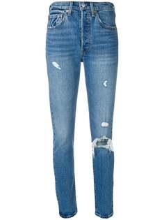 Levis джинсы скинни 501