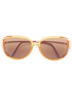 Christian Dior Vintage солнцезащитные очки с металлическими дужками