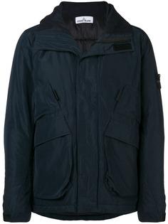 Stone Island куртка с карманами с клапанами
