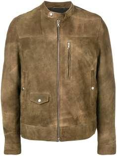 Mauro Grifoni куртка с эффектом потертости