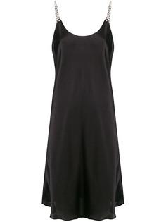 Paco Rabanne платье-комбинация
