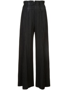 Pleats Please By Issey Miyake плиссированные брюки с завышенной талией