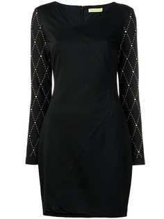 Versace Jeans платье с отделкой заклепками