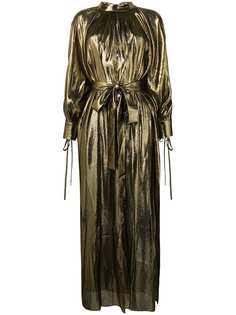 Osman вечернее платье Volita из ткани ламе