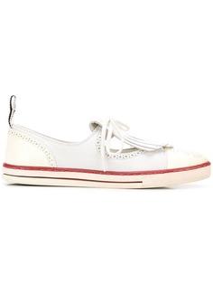 Chanel Vintage кроссовки в стилистике лоферов с бахромой