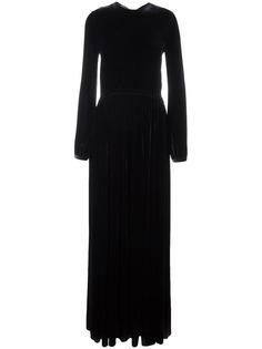 Rochas платье с длинными рукавами