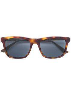 Gucci Eyewear очки в прямоугольной оправе