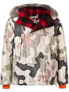 Woolrich камуфляжная куртка-пуховик Woolrich x Griffin