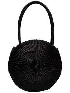 Sensi Studio круглая соломенная сумка на плечо