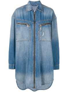 Diesel джинсовая рубашка свободного кроя