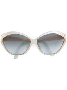 Christian Dior Vintage массивные солнцезащитные очки с градиентными линзами