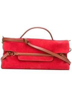 Zanellato сумка-тоут с кожаной отделкой
