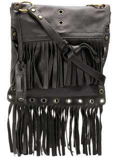 Dolce & Gabbana Vintage сумка на плечо с бахромой
