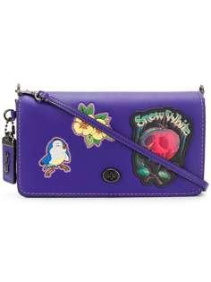 Coach x Disney сумка через плечо Dinky с нашивками