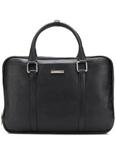 Baldinini logo plaque briefcase