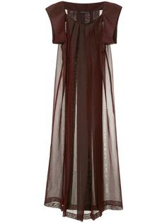 Yohji Yamamoto Vintage плиссированное платье макси