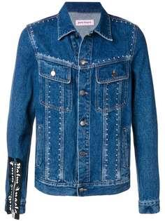 Palm Angels джинсовая куртка с заклепками
