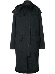 Canada Goose пальто на пуговицах с капюшоном