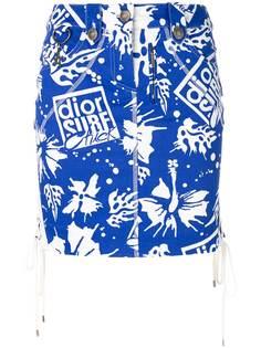 Christian Dior Vintage юбка Dior Surf Chic