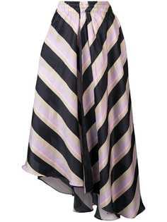 Apiece Apart асимметричная юбка в полоску