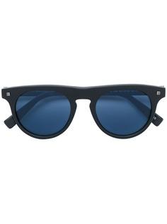 Ermenegildo Zegna солнцезащитные очки в круглой оправе с затемненными линзами