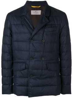 Canali двубортная куртка-пуховик