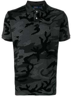 Polo Ralph Lauren рубашка-поло с камуфляжным узором