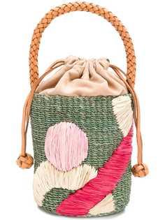 Aranaz сумка-корзина плетеного дизайна
