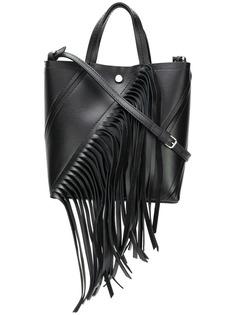 Proenza Schouler маленькая сумка-тоут Hex с бахромой
