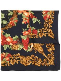 Christian Dior Vintage шарф с цветочным принтом