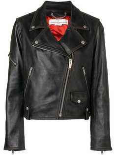 Golden Goose Deluxe Brand приталенная байкерская куртка
