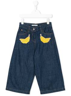 Raspberry Plum джинсы с аппликациями с бананами