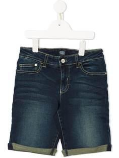 Emporio Armani Kids классические джинсовые бермуды