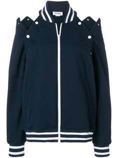 Monse куртка-бомбер с вырезами на плечах