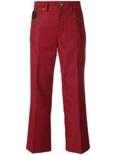 Marc Jacobs укороченные брюки в клетку